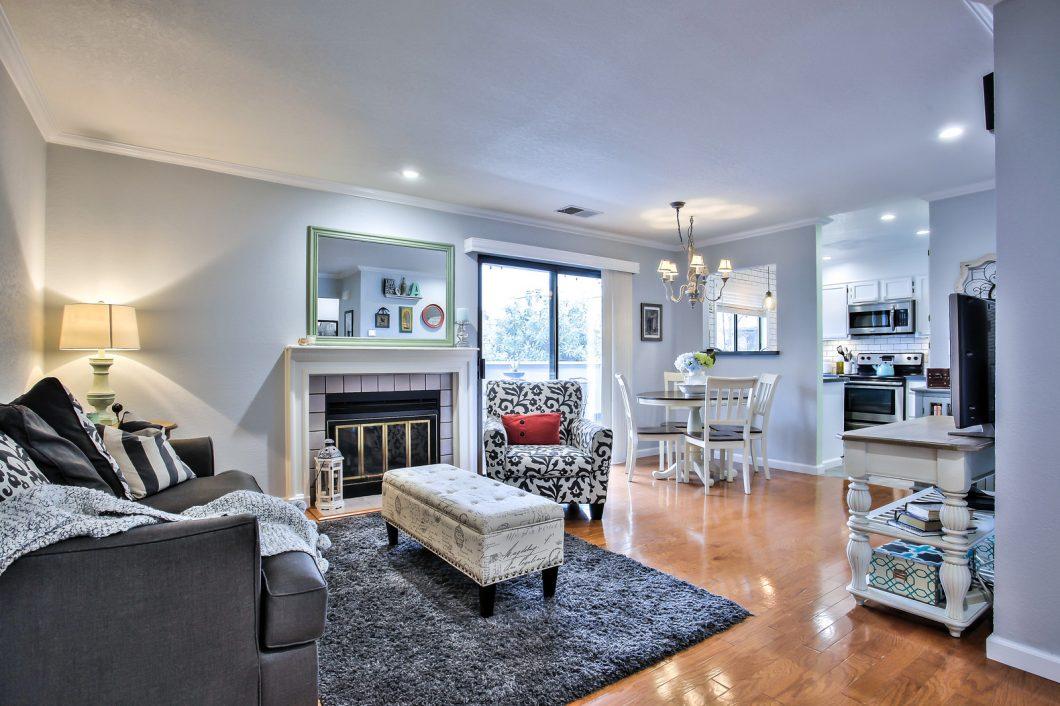 Living Room of 94 Elder Dr, D, Pacheco, CA